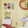 Цвет и декор дверей для ванной комнаты