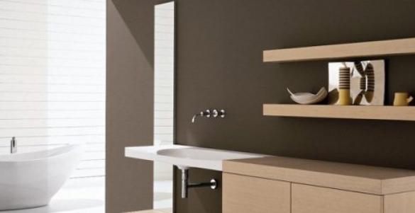 Правильно расставляем мебель в ванной комнате