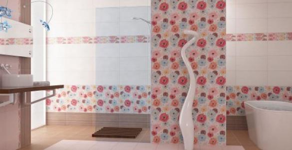 Виды плиток для отделки ванной комнаты