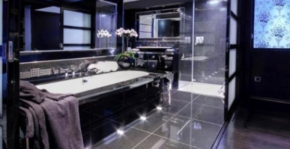 Ванная комната в стиле «хай-тек»