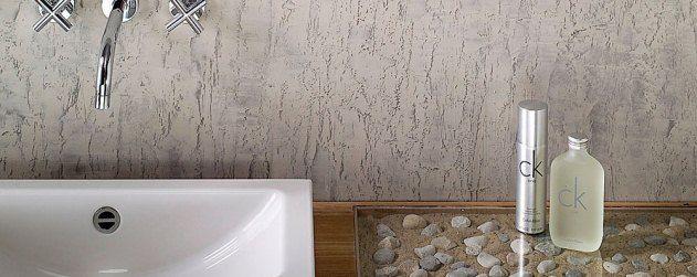 Декоративный бетон  — нестандартное решение для ванной комнаты