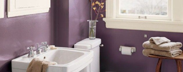 Окрашивание стен в ванной – стоит ли?