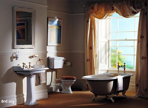 Модные стили отделки ванной комнаты