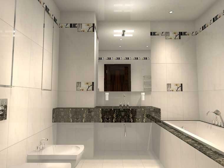 Освещение в ванной комнате « Отделка