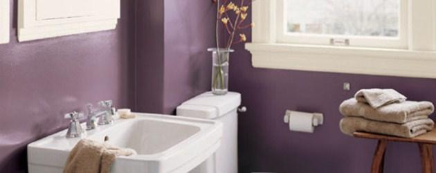 Варианты покраски стен в ванной фото